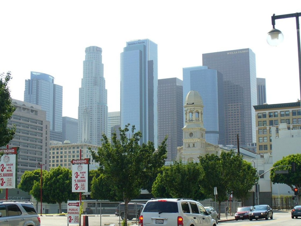 Downtown, Central Los Angeles, California