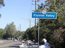 Elysian Valley, Central Los Angeles, California