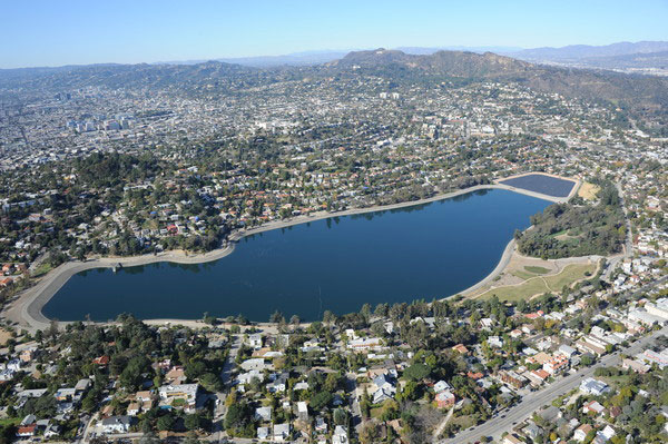 Silver Lake, Central Los Angeles, California