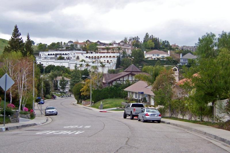 West Hills, San Fernando Valley, Los Angeles, California